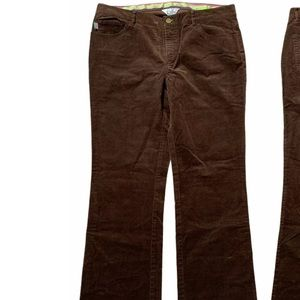 Lilly Pulitzer Corduroy Pants Bootcut Brown Size 8